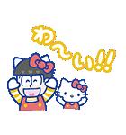 おそ松さん×サンリオキャラクターズ(個別スタンプ:09)