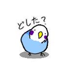 となりのいんこちゃん(個別スタンプ:16)