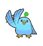 幸あれ☆幸運の青い鳥(個別スタンプ:25)