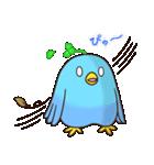 幸あれ☆幸運の青い鳥(個別スタンプ:29)