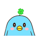 幸あれ☆幸運の青い鳥(個別スタンプ:32)
