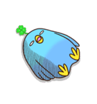 幸あれ☆幸運の青い鳥(個別スタンプ:33)