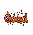 【動く!デカ文字】かおもじさん3(個別スタンプ:11)