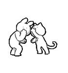 すこぶる動くウサギとネコ(個別スタンプ:14)