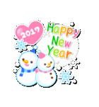 【2017】プチアニマルの年賀スタンプ(個別スタンプ:19)