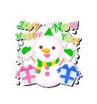 【2017】プチアニマルの年賀スタンプ(個別スタンプ:37)