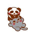 らぶぺた【パンダ】(個別スタンプ:22)