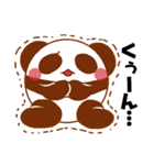 らぶぺた【パンダ】(個別スタンプ:32)