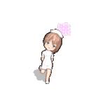 動く! 看護女子(個別スタンプ:02)
