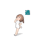 動く! 看護女子(個別スタンプ:06)