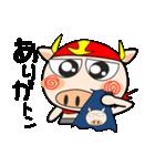 ブタさん、ヒーロー2♪(個別スタンプ:8)