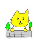 ネコおやじ☆四十にして惑わず(個別スタンプ:35)