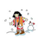 伝統妖怪のおようちゃん2(個別スタンプ:5)