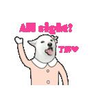 俺やで!ゆかいな白柴わんこ6(ガーリー編)(個別スタンプ:14)