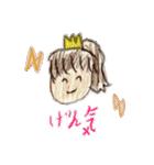 かっかちゃんのおえかきスタンプ(個別スタンプ:08)