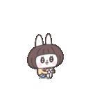 ショートヘア女子うさぎ(個別スタンプ:05)
