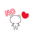 【さらに動く】アモーレ♡くまくま(個別スタンプ:12)