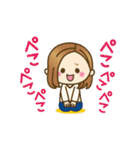 ▷動く!大人女子の日常【ゆる敬語】(個別スタンプ:07)