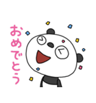 ふんわかパンダ3(お仕事編)(個別スタンプ:06)