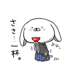 いぬころさん春モード(個別スタンプ:16)