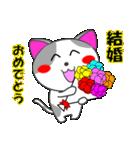 4匹の子猫 合格祈願・受験(個別スタンプ:19)