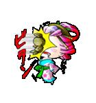 """花魁ライフ""""さおり&しのの巻""""(個別スタンプ:40)"""
