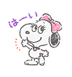 スヌーピー☆ふんわり可愛いクレヨンタッチ(個別スタンプ:07)