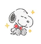 スヌーピー☆ふんわり可愛いクレヨンタッチ(個別スタンプ:09)