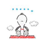 スヌーピー☆ふんわり可愛いクレヨンタッチ(個別スタンプ:23)