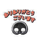 ペンギンのアップリケ01(個別スタンプ:01)