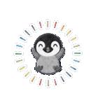 ペンギンのアップリケ01(個別スタンプ:22)