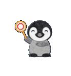 ペンギンのアップリケ01(個別スタンプ:23)