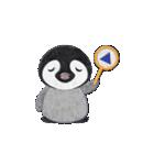 ペンギンのアップリケ01(個別スタンプ:24)