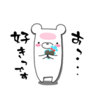しろくまたん☆シンプルすたんぷ 春(個別スタンプ:05)