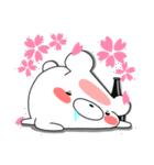 しろくまたん☆シンプルすたんぷ 春(個別スタンプ:27)
