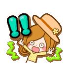 ほのぼのカノジョ【たのしい春☆】(個別スタンプ:27)