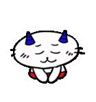 鬼にゃんこ(個別スタンプ:32)