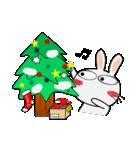 クリスマスも、うさぎサン♪(個別スタンプ:02)