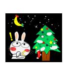 クリスマスも、うさぎサン♪(個別スタンプ:09)