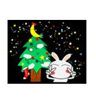 クリスマスも、うさぎサン♪(個別スタンプ:10)