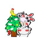 クリスマスも、うさぎサン♪(個別スタンプ:12)