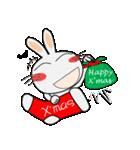 クリスマスも、うさぎサン♪(個別スタンプ:16)