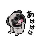 動く!パグっち(個別スタンプ:12)