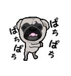 動く!パグっち(個別スタンプ:21)