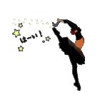 美しのバレエ シルエット*ballet*3幕(個別スタンプ:07)
