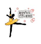 美しのバレエ シルエット*ballet*3幕(個別スタンプ:09)