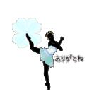 美しのバレエ シルエット*ballet*3幕(個別スタンプ:10)