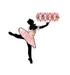 美しのバレエ シルエット*ballet*3幕(個別スタンプ:12)
