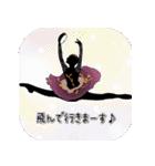 美しのバレエ シルエット*ballet*3幕(個別スタンプ:18)