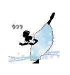 美しのバレエ シルエット*ballet*3幕(個別スタンプ:25)